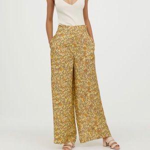 Pants - High waisted chinoiserie pant